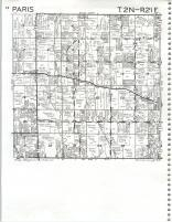 Map Image 008, Kenosha and Racine Counties 1986